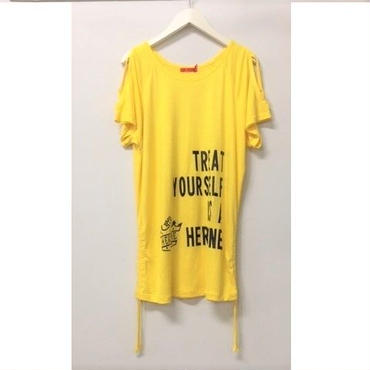 (HEROINE)  クロスショルダードルマン レモン