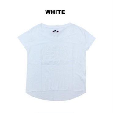 (BODY  ACTION)   エンボス Tシャツ WHITE Sサイズ