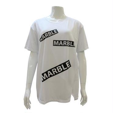 (Marble) フロントオープンT ホワイト