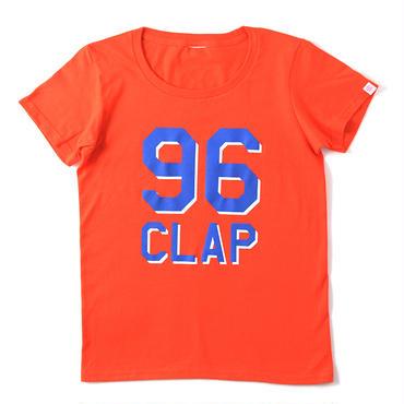 (CLAP)  THE  96  Tee オレンジ