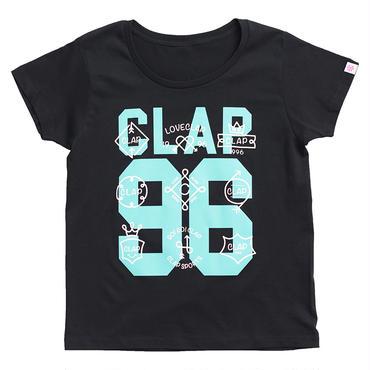 (CLAP)  NINE  CLAP  Tee ブラック