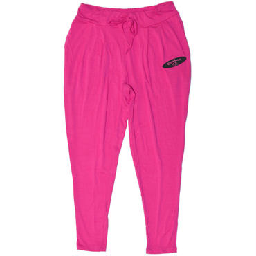 LOOSE FIT PANTS  (TROPICAL PINK)