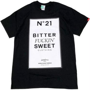 Bitter  FUCKIN'  Sweet  S/S  Tee ブラック