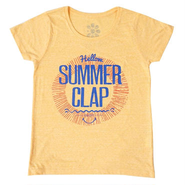 (CLAP)  SUMMER  CLAP  Tee イエロー