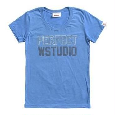 (Wstudio)  PERFECT  Tee ブルー