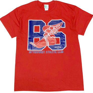 BS.A.C.  S/S  Tee レッド