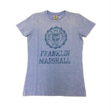 (FRANKLIN&MARSHALL) エンブレム ロゴTシャツ ラベンダー