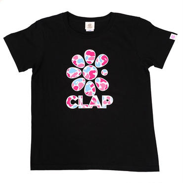 (CLAP)  G-CAMO  Tee  ブラック