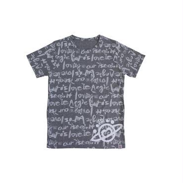 (Marble)  ロゴTシャツ グレー