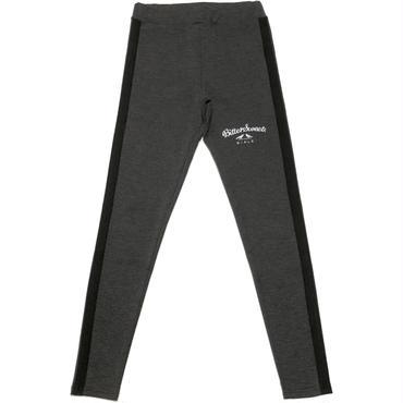SIDE LINE LEGGINGS ヘザーグレー/ブラック
