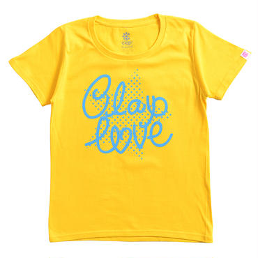 (CLAP)  DOT  STAR  Tee イエロー