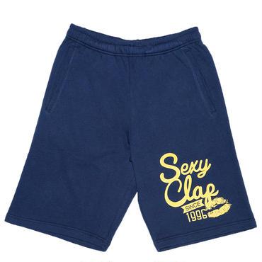 (CLAP)  SEXY  CLAP  HALF  Sweat  Pants ネイビー