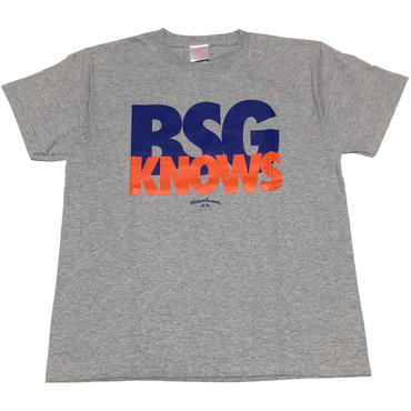 BSG  KNOWS  S/S  Tee スポーツグレー