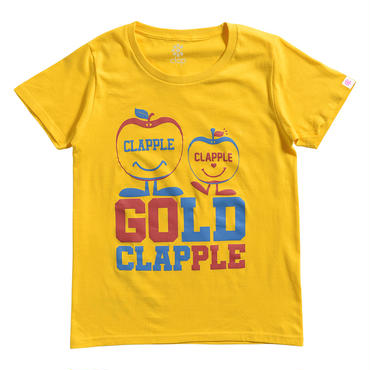 (CLAP)  CLAPPLE  Tee イエロー