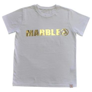 (Marble)  Tシャツ ホワイト