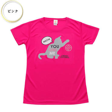 (CREAM  CLOTHING)  You and me Kitten T-shirt ピンク
