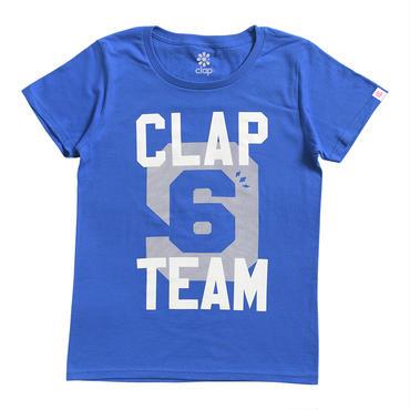 (CLAP)  96TEAM  Tee ブルー
