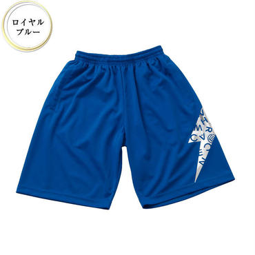 (CREAM  CLOTHING)  Lightning  ドライハーフパンツ ロイヤルブルー