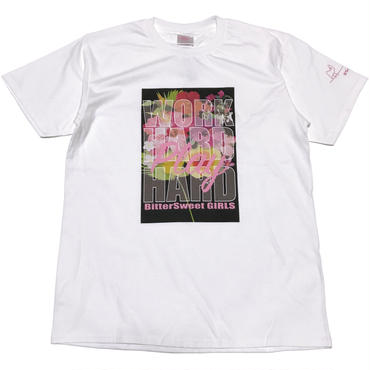 WHPH  FLOWERS  Tee ホワイト