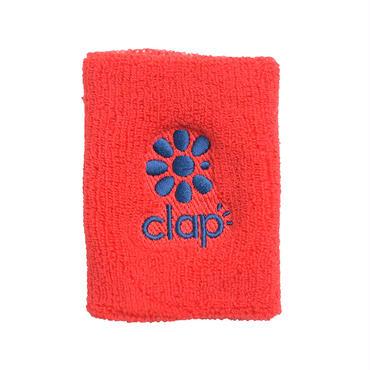 (CLAP)  WRIST  BAND レッド/ネイビー
