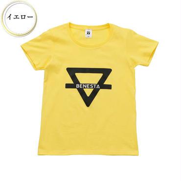 (BENESTA)  logo motif Tee  イエロー