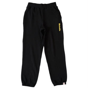 (Wstudio)  WCALF  Sweat  Pants ブラック