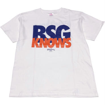 BSG  KNOWS  S/S  Tee ホワイト