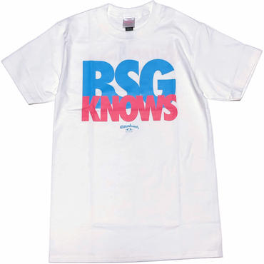 BGS KNOWS S/S Tee ホワイト
