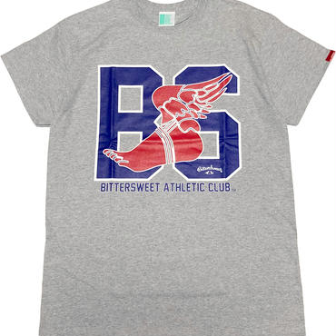 BS.A.C.  S/S  Tee スポーツグレー