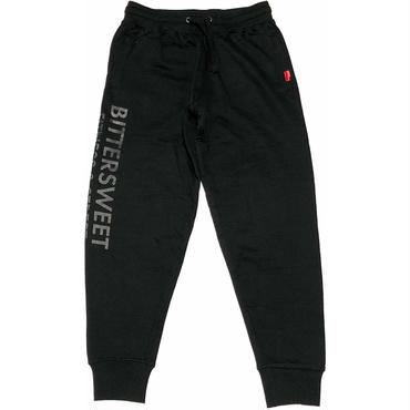 FITNESS  &  STREET  SLIM  SWEAT  JOGGERS ブラック