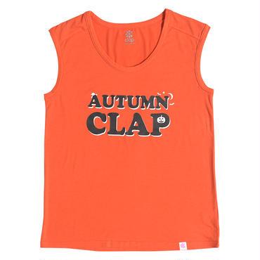 (CLAP)  AUTUMN  CLAP  TANK オレンジ