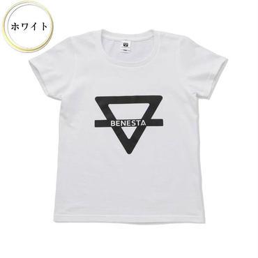 (BENESTA)  logo motif Tee  ホワイト