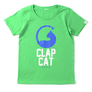 (CLAP)  CLAP  CAT  Tee グリーン