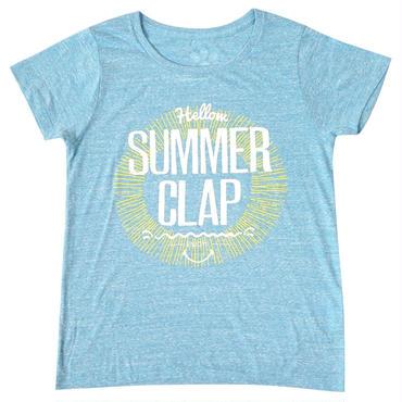 (CLAP)  SUMMER  CLAP  Tee ターコイズ