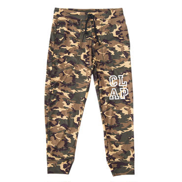 (CLAP)  E-CAMO  CROPPED  PANTS  グリーンカモ