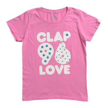 (CLAP)  S-CLAP-96  Tee ピンク