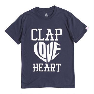(CLAP)  HEART-CLAP  Tee ネイビー