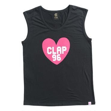 (CLAP)  B-HEART  TANK ブラック