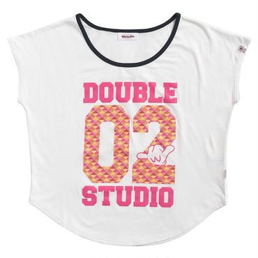 (Wstudio)  02  TRIANGLE  AERO  TOP ホワイト
