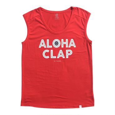 (CLAP)  ALOHA CLAP  TANK レッド