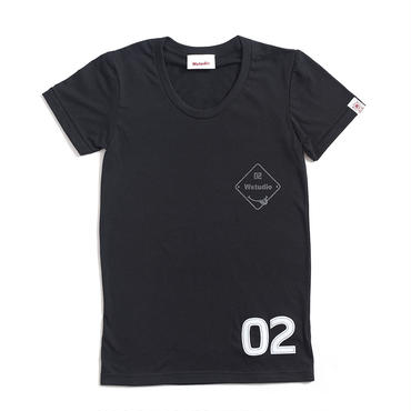 (Wstudio)  WST  CLUB  Girls  Tee ブラック
