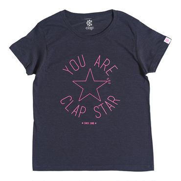 (CLAP)  CLAP  STAR  Tee ネイビー