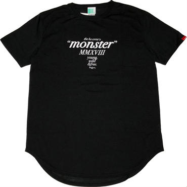 BS  MONSTER  2018  ROUND  TAIL  DRY  S/S  Tee ブラック