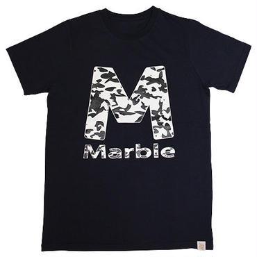 (Marble)  迷彩柄Tシャツ ネイビー
