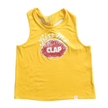 (CLAP)  Kiss me CLAP NGI TANK イエロー