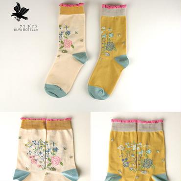 クリボテラ birdhouse socks  Yellow