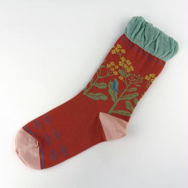 クリボテラ nanohana socks レッド