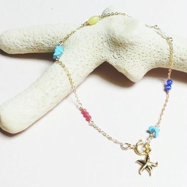14kgf☆multi bracelet