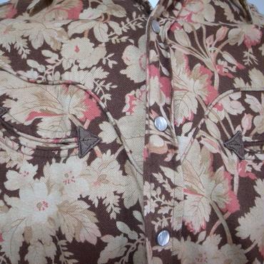 Ralph Lauren 総花柄ウェスタンシャツ
