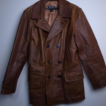 Polo Jeans Leather Coat ほぼ新品 USサイズS